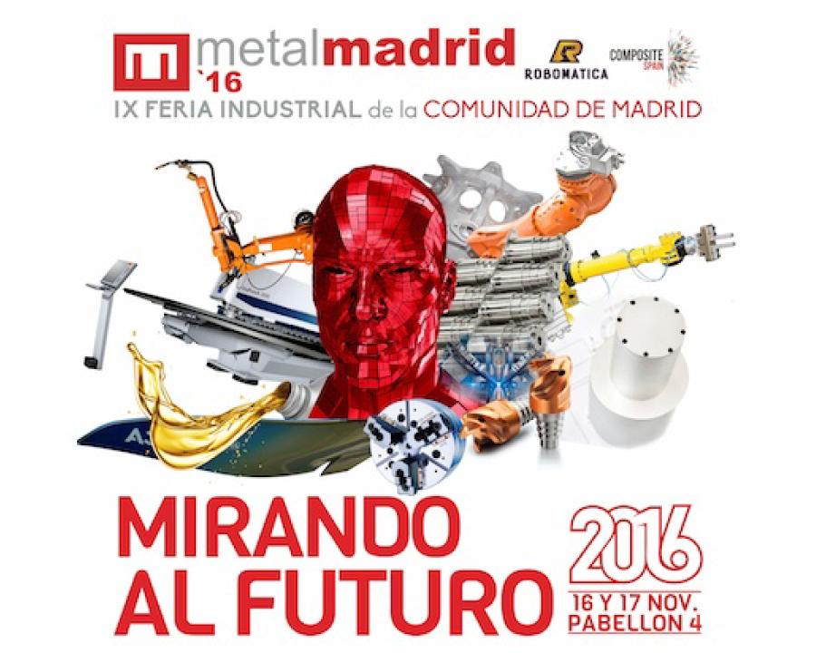 UNIBE Mecanizados asiste a Metal Madrid feria de la industrial metal